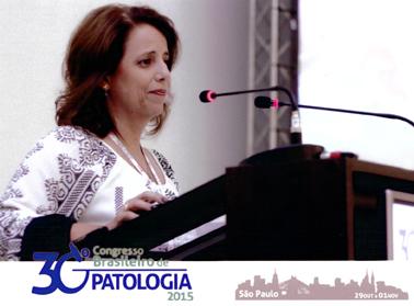 Participação da Dra. Andréa Pires no 30º Congresso Brasileiro de Patologia 2015 em São Paulo - SP.
